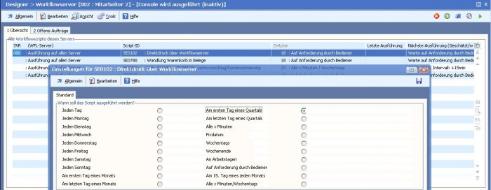 Automatisierte Abläufe mit Softengine Workflow Server