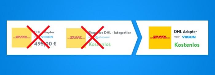 Kostenloses DHL-Plugin für die Integration in Shopware